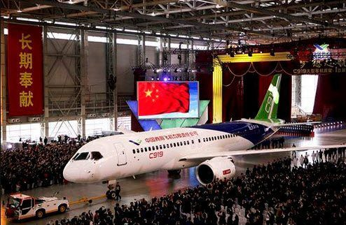 COMAC's Day in the Sun as it Rolls Out the C919