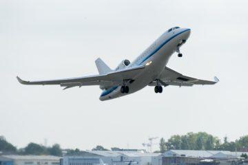 Dassault Falcon 8X Entry into Service