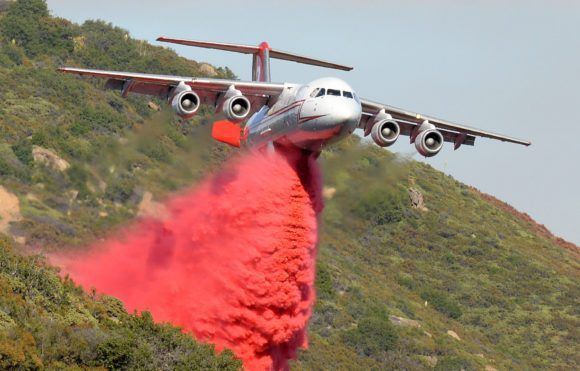 Avro RJ second life as a firefighting tanker